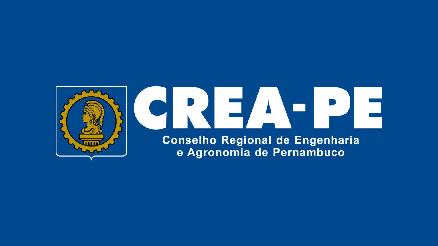 Logo CREA PE Versao Negativa